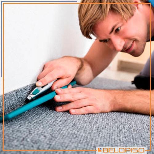 Compra e instalação de carpete