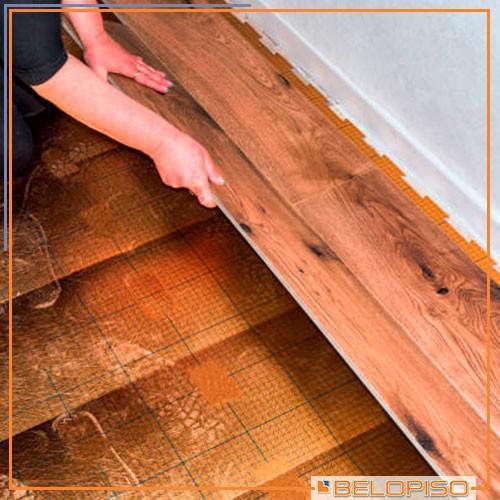 Instalador de piso vinílico em manta
